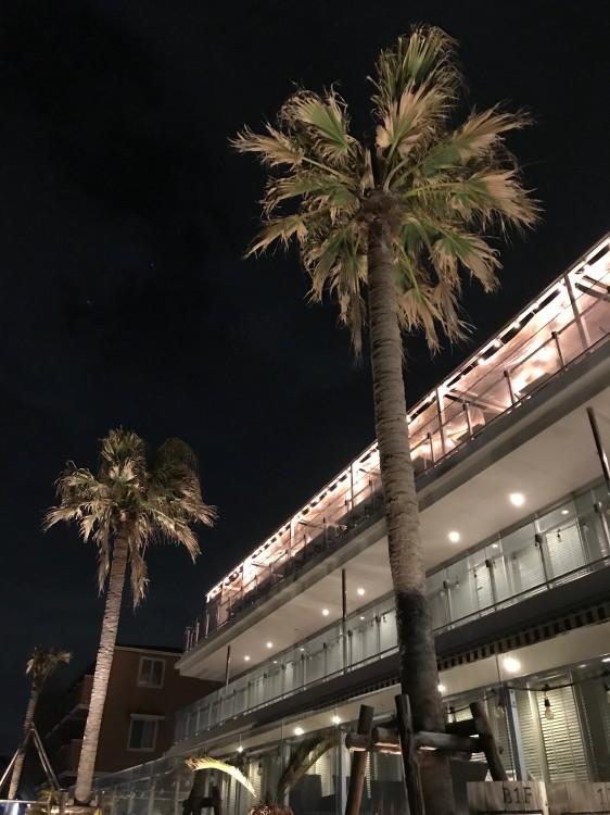 ポストバイハニー夜の外観