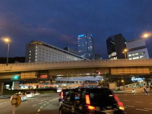 赤坂見附の宵
