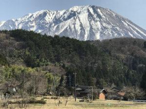 大山のある風景